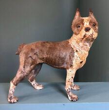 New Listing1930's Antique Hubley Cast Iron Boston Terrier Dog Door Stop