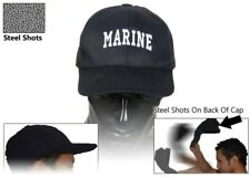 MARINE Self Defense Baseball Hat Cap Low Profile Weighted Style Impact Tool