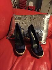 GORGEOUS STUDIO TMLS DESIGNER WOMENS HIGH HEEL SHOES SIZE 8PAID $224