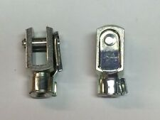 Clevis M6 G 6 x 12/M6 with snap lock pin zinc coated  QUANTITY-2