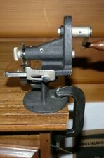 Vtg.1930s Singer Hand Crank Pinking Machine Crinkle Cutter Working Great & Clamp