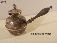 Vintage STERLING SILVER Pipkin Warmer Baldin & Miller