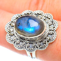 Labradorite 925 Sterling Silver Ring Size 8 Ana Co Jewelry R56510F