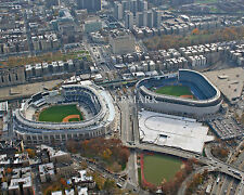 YANKEE STADIUM NEW & OLD NEW YORK YANKEES 8x10 PHOTO