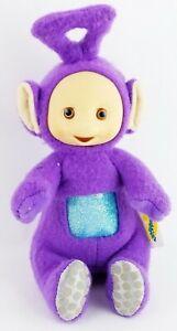 """Teletubbies Tinky Winky 7"""" Plush Toy Purple 1998 Playskool 57201/57200 NEW"""