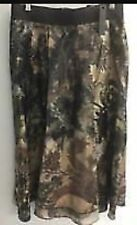 Donna Karan -New York ALine Abstract Lace Print Skirt Size 8 NEW Style A21S065R2