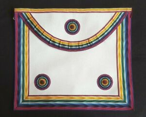 Royal Ark Mariners members imitation leather apron with option of breast jewel