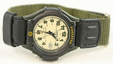 Casio FT-500WVB-3BV Analog Green FORESTER Watch with Backlight Cloth Band New