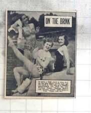 1950 Ballet Dancers, Eleanor Fazan, Tamara Kirova, Barbara Pearce, On The River
