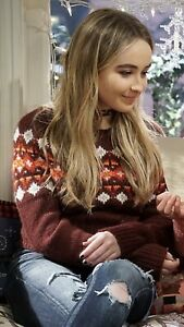 Sabrina Carpenter Screen Worn Wardrobe W/COA Celebrity Girl Meets World