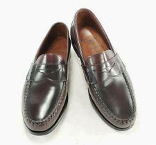 Allen Edmonds Walden Mens Leather Loafers Dress Shoes Cordovan Oxblood Sz 8 D