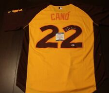 Robinson Cano Seattle Mariners Signed 2016 MLB All Star Game Jersey COA BAS