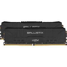 Crucial DIMM 32 GB DDR4-3200 Kit, Arbeitsspeicher, schwarz