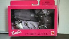 NEW Barbie Fashion Avenue Accessories Pack EVENING STYLE  Scarf Necklace Bag