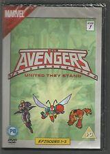 THE AVENGERS  Episodes 1-3  Marvel UK R2 DVD sealed/new