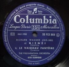 KLEMPERER DIRIGE WAGNER FRANCIA 2 X LP Set in RILEGATO manica COLUMBIA 33 FCX 868