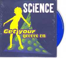 Science - Get Your Groove On - CDS - 1997 - House 3TR Cardsleeve Do It Music