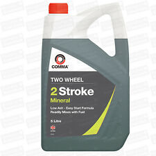 Comma Motorcycle Motorbike 2 Stroke Mineral Engine Oil 5L TST5L