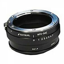 Rayqual NFG-SaE Lens Mount Adapter Nikon F/G Type Lens - SONY aE Body Japan EMS
