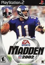 Brand New, Sealed Copy EA Sports Madden NFL 2002 Sony PlayStation 2 PS2 (2001)