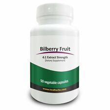 Bilberry Extract - 1500mg of Bilberry Fruit Derived From 4:1 Pure Extract