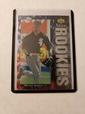 Michael Jordan Baseball Rookie Card 1994 Upper Deck RC #19