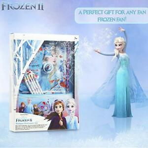 Disney Frozen 2 Bumper Stationery Gift Set for Girls with Anna and Elsa