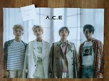 "K-POP A.C.E Mini Album ""Adventures In Wonderland"" Official Group Poster folded"