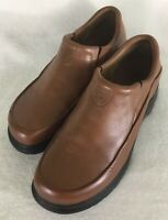 Ariat ATS Women's Tan Brown Leather Slip-On Shoes Western Loafers Size 9.5B