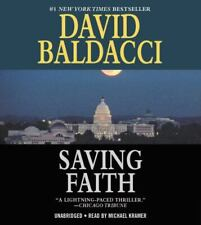 David Baldacci Saving Faith Unabridged Read By Michael Kramer 2014 AudioBook CD