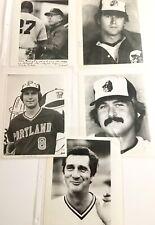 Portland Beavers PCL AAA get 5 AP 8x10 Original Photos Early 1980's