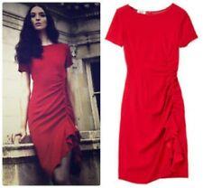 NWT Moschino Red Ruffled Dress - I40, AU 8-10