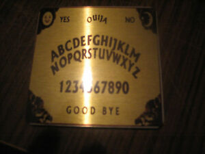 PERSONALISED ALUMINIUM COASTER OUIJA BOARD NOVELTY GIFT GOTH OCCULT WICCA WITCH