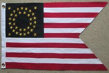 35 Star Flag, Indian Wars, Civil War Flag, United States Guidon... CORRECT SIZE
