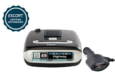 ESCORT MAX II Platinum Radar Laser Detector (Refurbished) - 180 Day Warranty