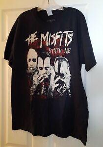 NEW Misfits STATIC AGE Concert T-Shirt Santa Ana, CA Lg Punk Rock