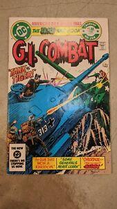 G.I. COMBAT 256 Very Good 4.0; Joe Kubert cover, 1983