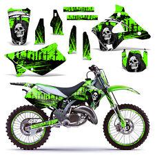 Kawasaki KX125 KX250 Decal Graphics Kit Dirt Bike MX Motocross Deco 94-98 REAP G