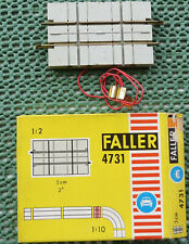 Faller Ams 4731 Rails Crosses Straße in Original Box
