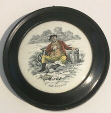 "New listingDickens' ""Mr Pickwick� Framed Pot Lid"