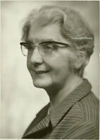 Orig. Photo, Lady Jeffreys, Britische Erzieherin, 1970