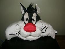 Vintage 1994 Sylvester the Cat Nylon Plush Pillow by Play by Play SEARS all tags