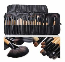 24Pcs Superior Soft Cosmetic Makeup Brush Set Brushes Kit + Pouch Bag Case