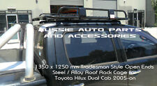 Open Ends Tradesman Alloy Roof Rack 1350mm for Toyota Hilux  05-18 Roof Rack