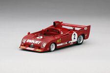TSM 1/43 Alfa Romeo T33 TT F12 #2 1975 Monza 1000Km Winner A.Merzario/J.Laffite