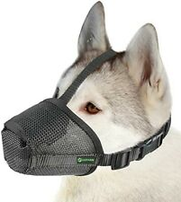 Nib Dog Muzzle Mesh Mask, Anti-biting, Barking, Chewing, Adjustable, Breathable