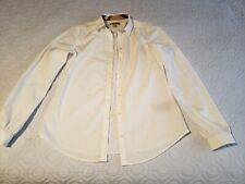 Burberry Brit Women White SHIRT  SZ XS