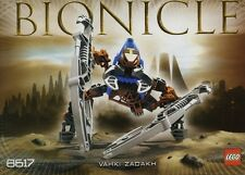 LEGO VAHKI ZADAKH 8617 Set Bionicle figure Hero Factory
