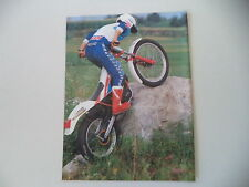 advertising Pubblicità 1986 MOTO FANTIC TRIAL 301 PROGRESS 2