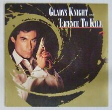 James Bond 007 45 Tours License to kill Gladys Knight